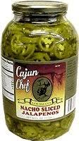 Jalapeno Sliced Cajun Chef    4/1gal