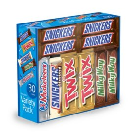 Candy Assorted Mars Chocolate bars  30ct