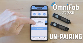 Un-Pair OmniFob from Phone
