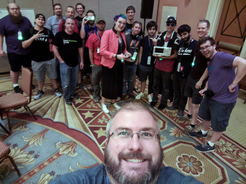 DEFCON 26 Hack the Badge Team