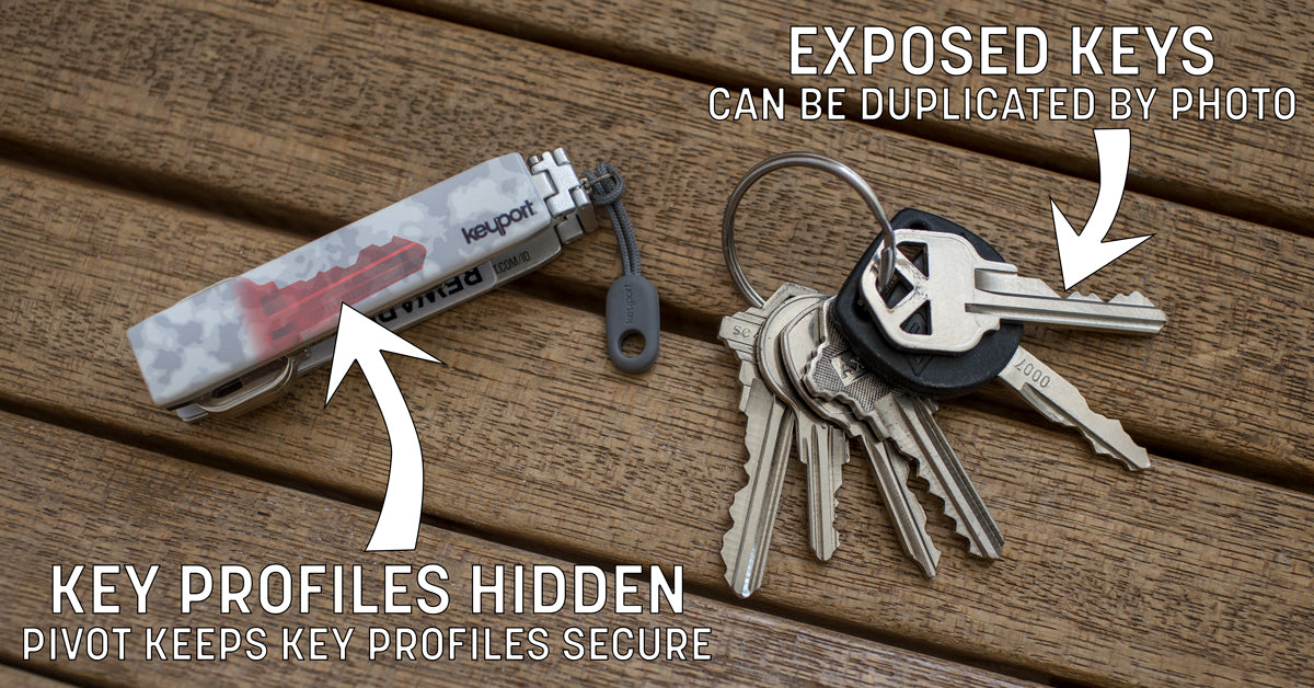 Protect your key from spies and thieves