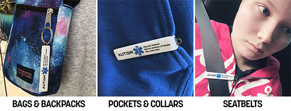 Medical Alert Clips are an effective way of letting first responders know critical information during a medical emergency in the case you or your loved one is unable to communicate.