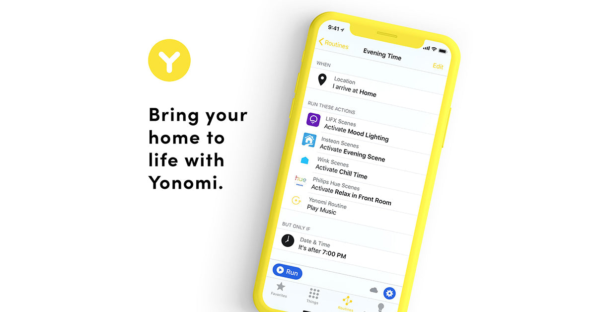 Yonomi works with OmniFob