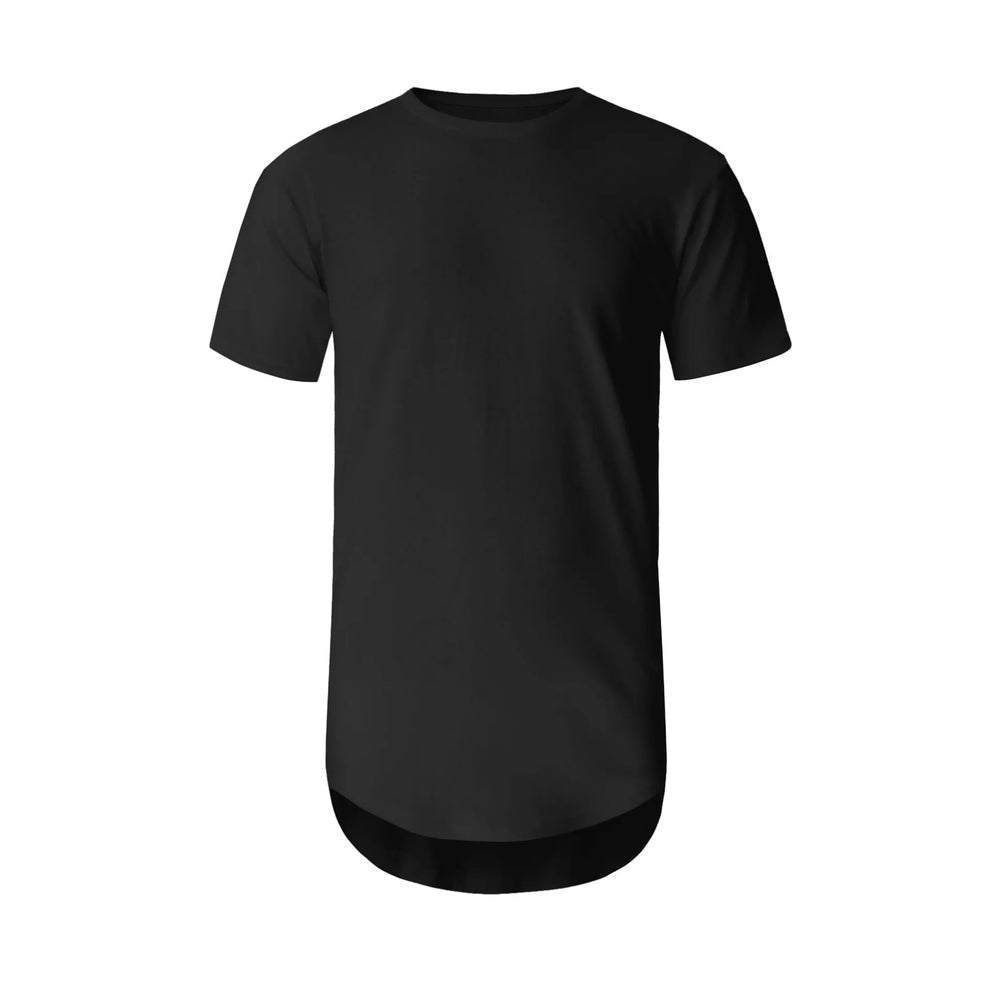 The Curved Hem Everyday T-Shirt - Up to 5XL!