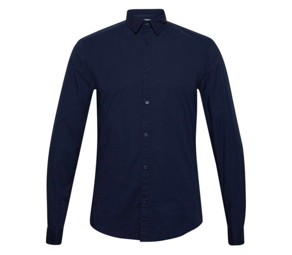 The Slim Fit Poplin Long Sleeve - Limited Stock