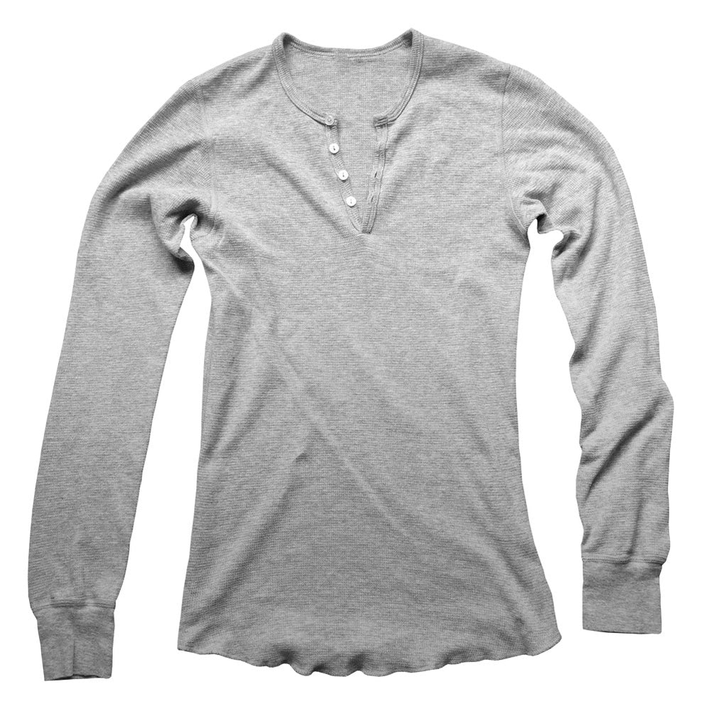 The Raw Edge Henley Shirt - Up to 2XL! - 50% OFF!