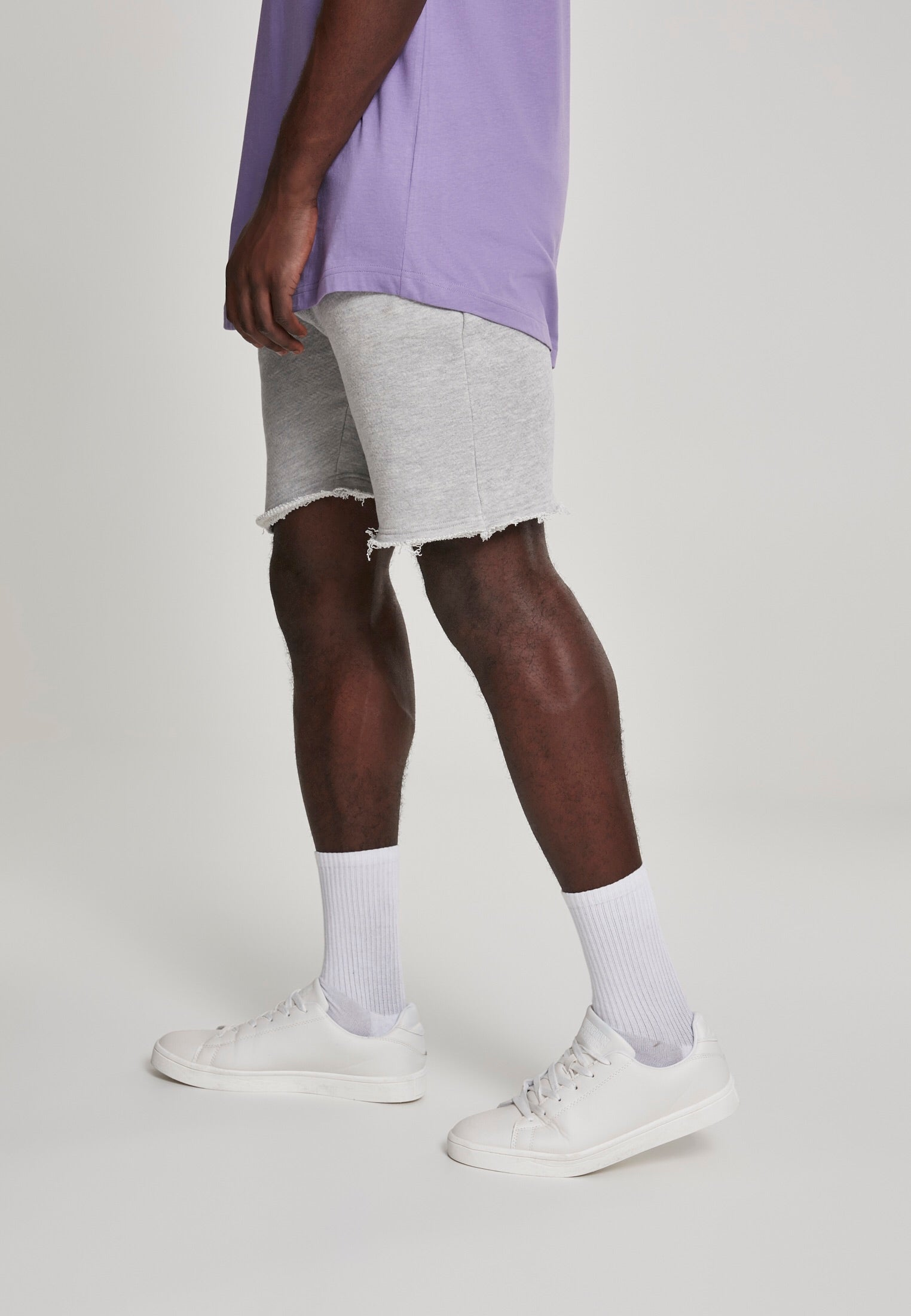 The French Terry Herringbone Short - Up To 5XL!