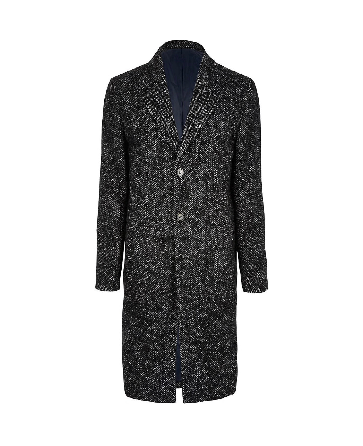 The Wool Overcoat - Up to Size 52(XXXL)