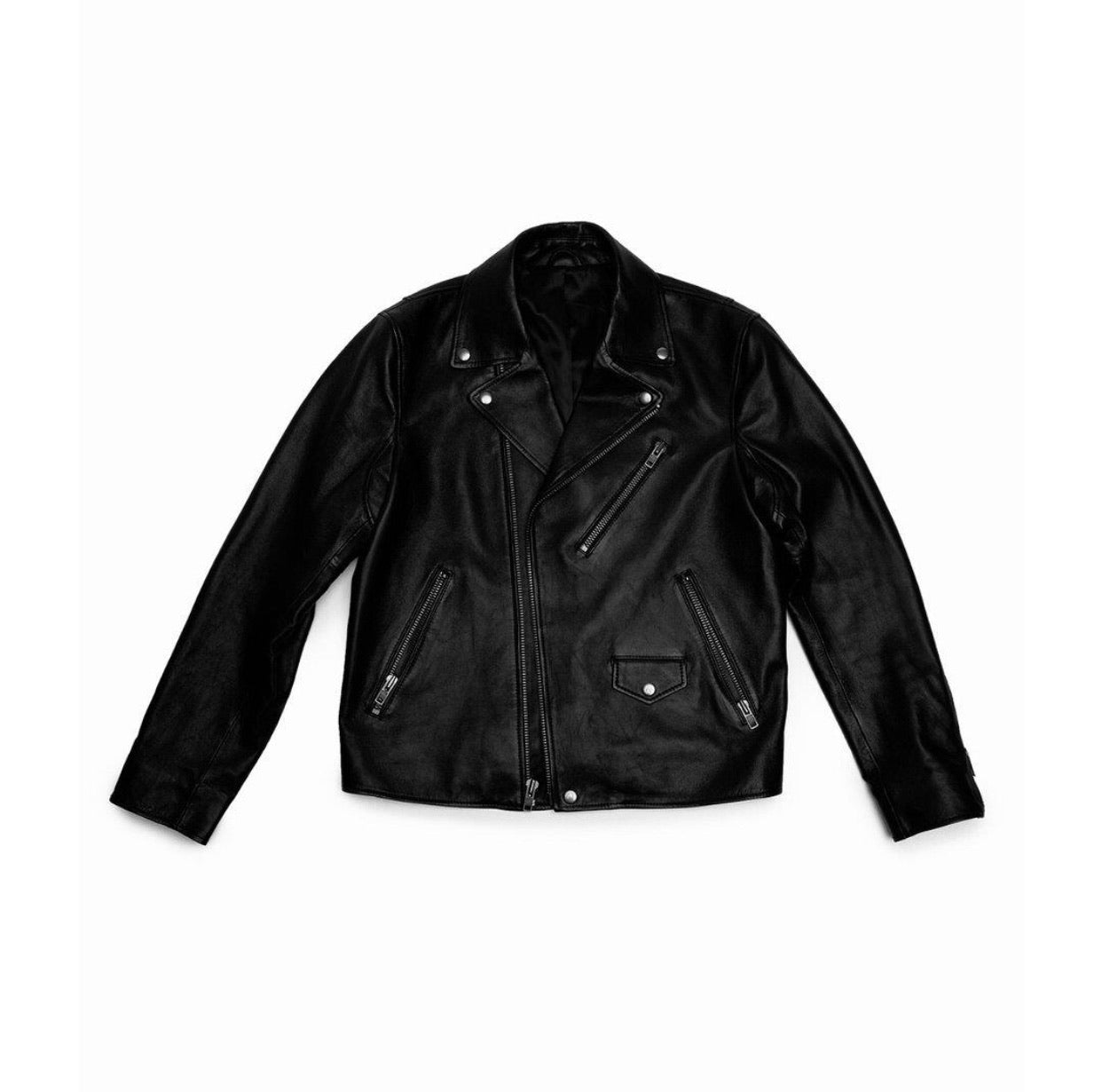 The Night Ride Leather Jacket - Up to Size 4XL
