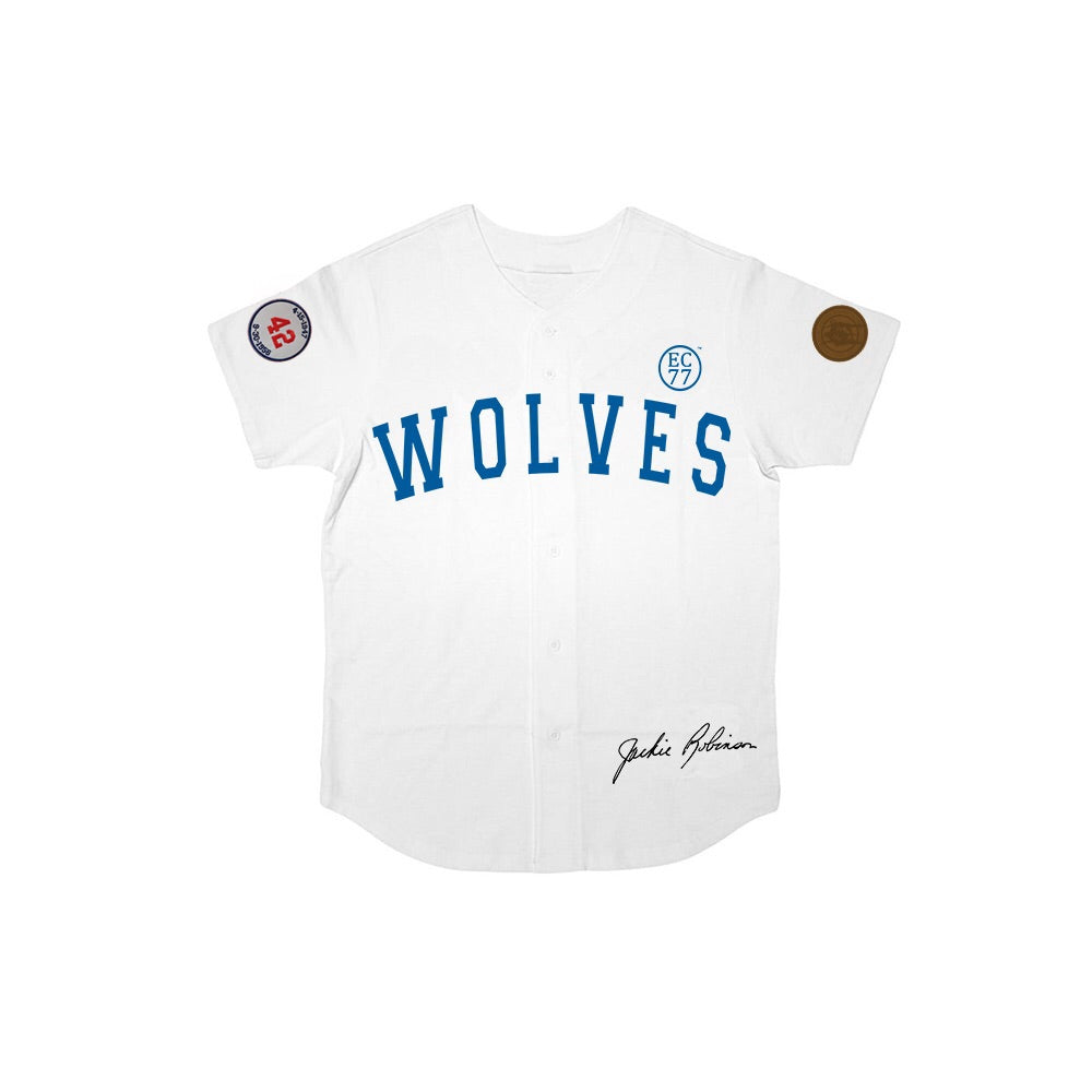 The #42 Wolves Cotton Jersey - Up to Size XXXL!