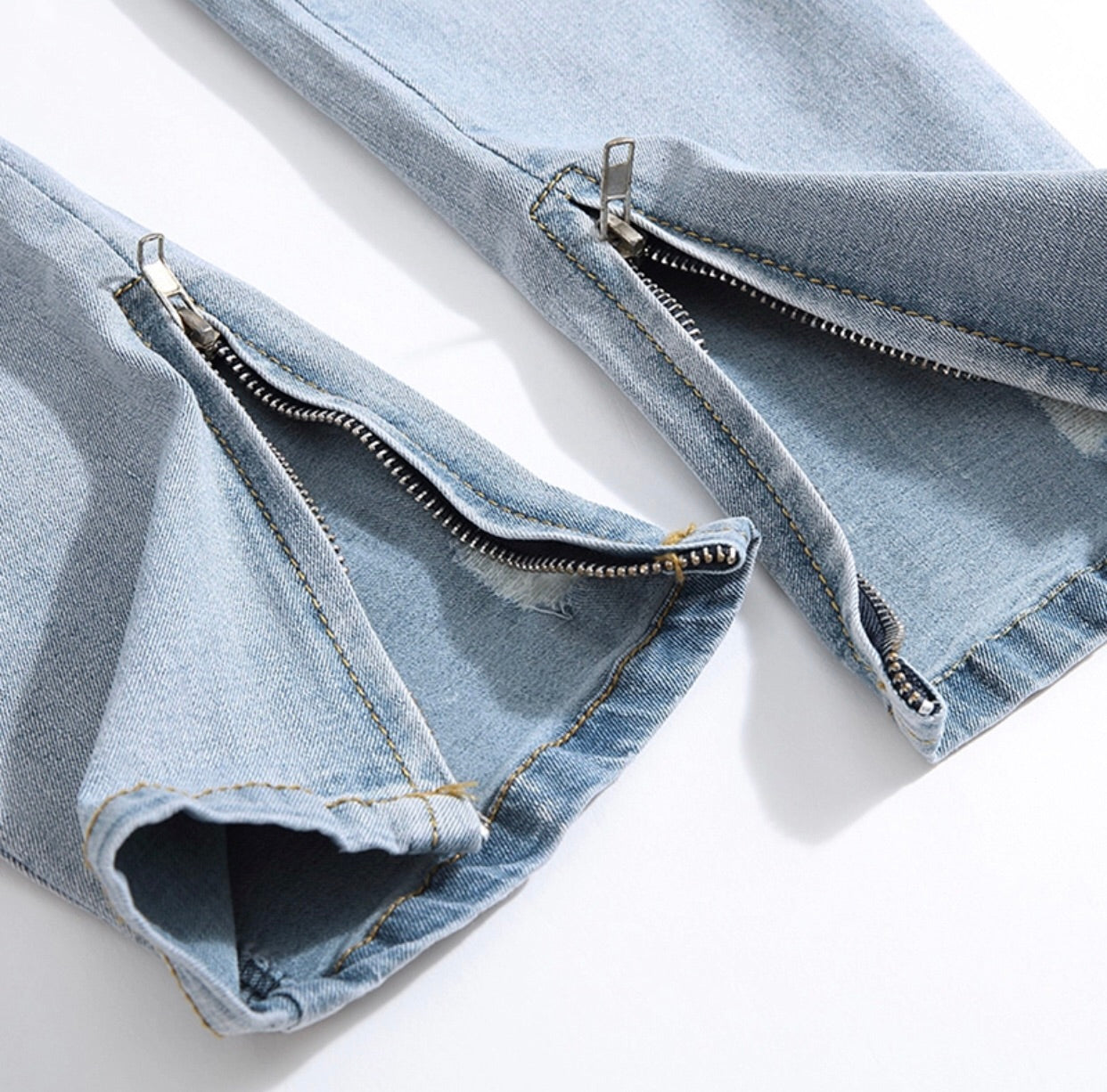The Everyday Light Wash Denim Pant - NEW!