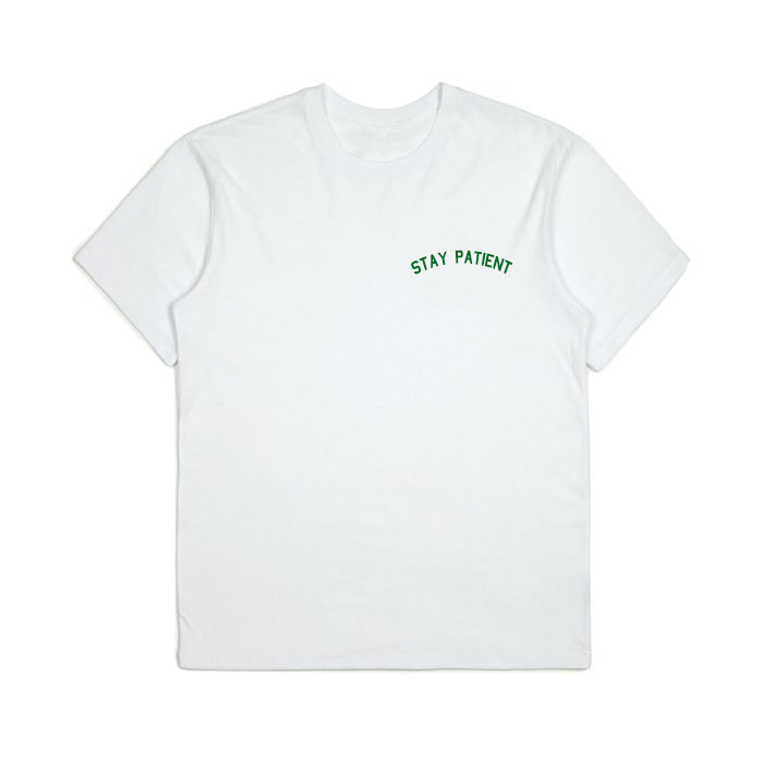 The Recycled Stay Patient Tee - Up to Size XXL!