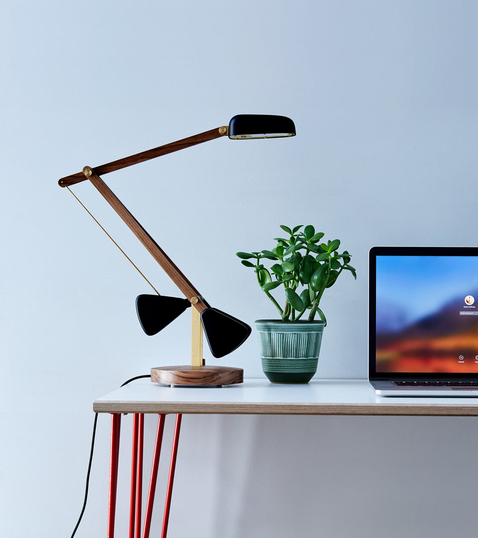 The perfectly balanced desk lamp
