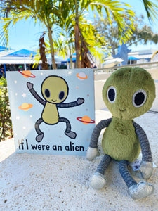 Jellycat Book & Friend Pair - Alien