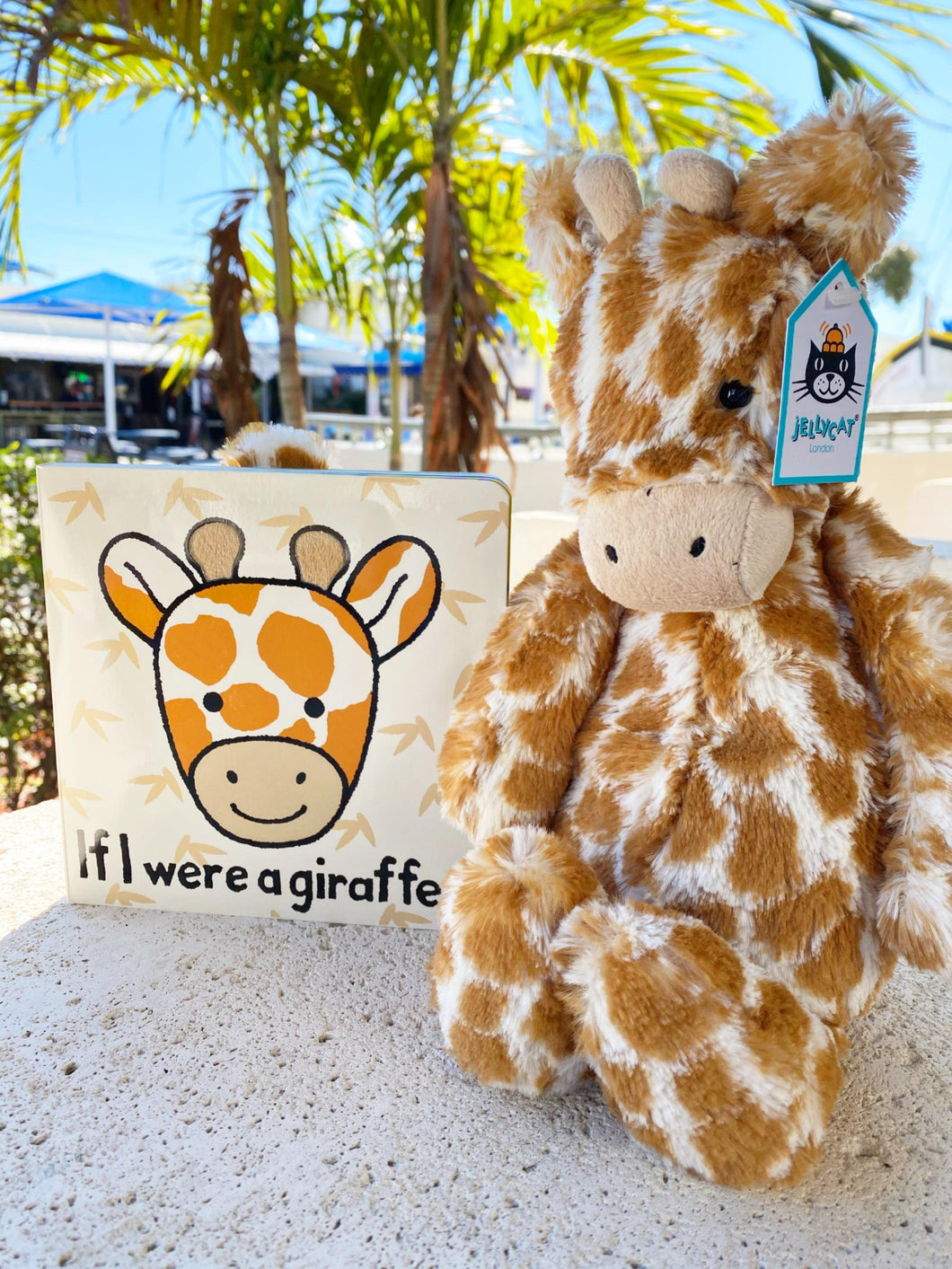 Jellycat Book & Friend Pair - Giraffe