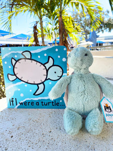 Jellycat Book & Friend Pair - Turtle