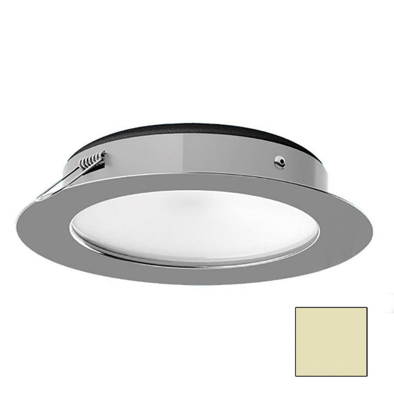 i2Systems Apeiron Pro XL A526 - 6W Spring Mount Light - Warm White - Polished Chrome Finish [A526-11CBBR]