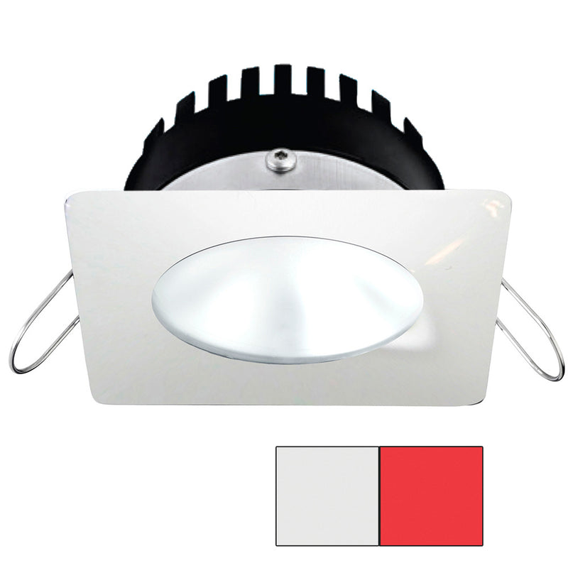 i2Systems Apeiron PRO A506 - 6W Spring Mount Light - Square/Round - Cool White  Red - White Finish [A506-32AAG-H]