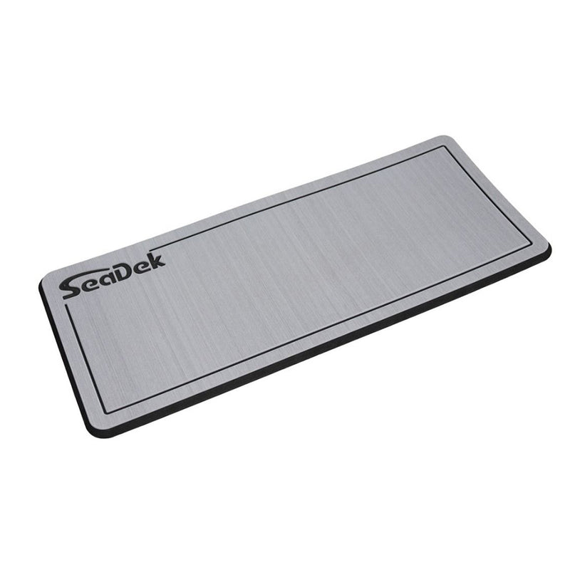"SeaDek Dual Density Helm Pad - 16"" x 39"" 20mm - Large - Storm Gray/Black w/Routed SD Logo [37926-80324]"