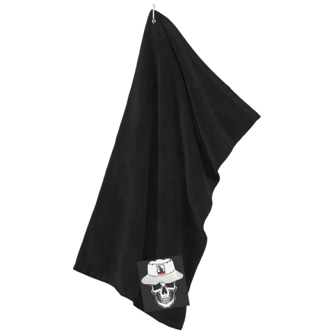 Urban Golf Gear Skull & Bucket Microfiber Golf Towel