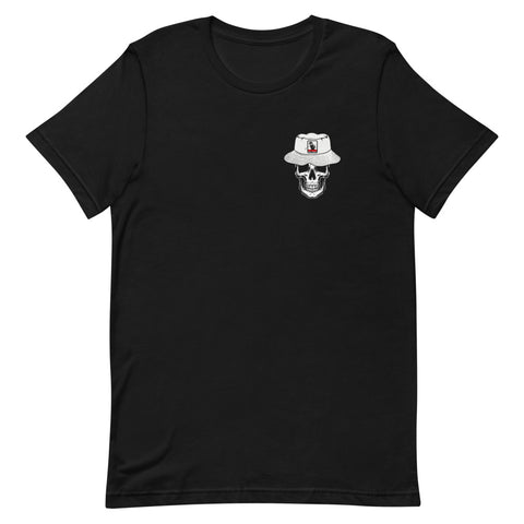U.G.G Skull & Bucket, Front & Back Print,Short-Sleeve T-Shirt