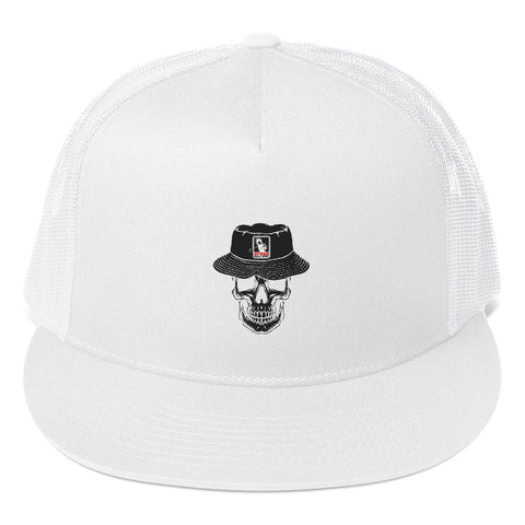 U.G.G Skull & Bucket Flat Bill Trucker Cap
