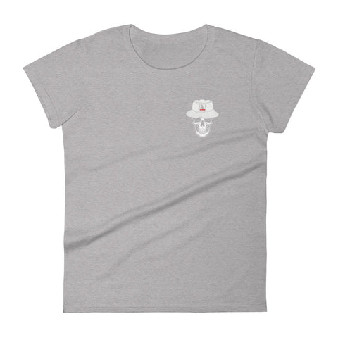 U.G.G Skull & Bucket Front & Back Print Women's short sleeve t-shirt