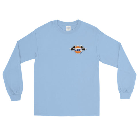 U.G.G Retro Golf Front & Back Print Long Sleeve Shirt