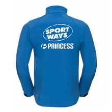 Load image into Gallery viewer, Princess Softshell Blue Jacket