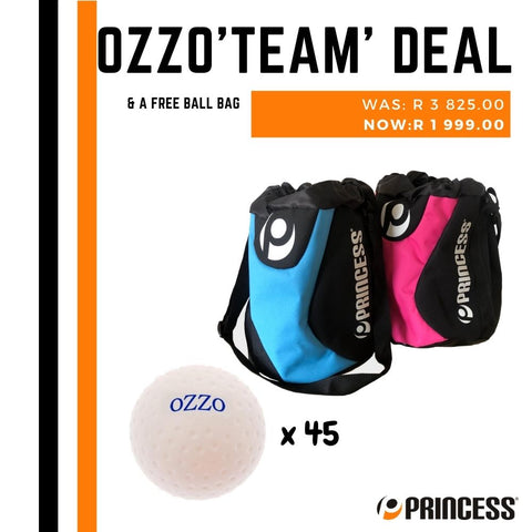 Ozzo ball 'TEAM' deal