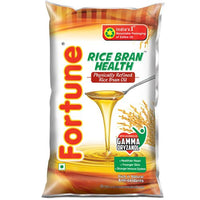 Fortune Rice Bran Oil Pouch 1 Ltr - Anytimeneeds