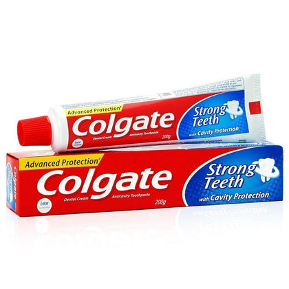 Colgate Toothpaste Dental Cream Strong Teeth 200 Gm - Anytimeneeds