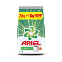 Ariel Complete Detergent Washing Powder 2 kg with 1 kg