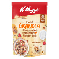Kellogg'S Granola Crunchy Almond And Strawberry 450 Gm