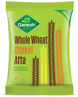 Ganesh Whole Wheat Chakki Atta-1 Kg