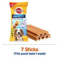 Pedigree Dentastix Medium 7Pcs Single