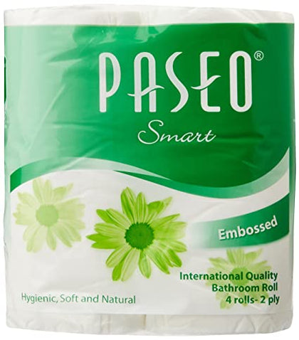 Paseo Smart Toilet Tissue 6*1 Pack