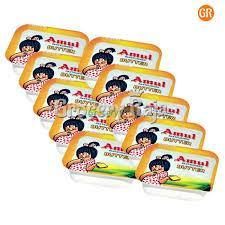 Amul Butter 10 gm (Pack of 10 pcs) - Anytimeneeds