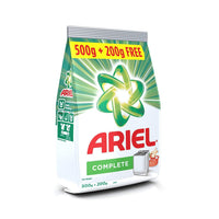 Ariel Complete Detergent Washing Powder 500 Gm With 200 Gm