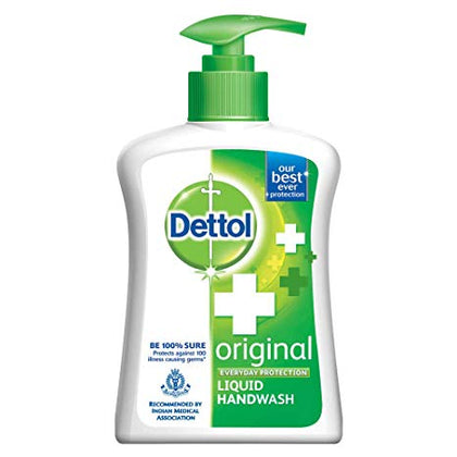 Dettol Original Liquid Hand Wash Pump 250 Ml - Anytimeneeds