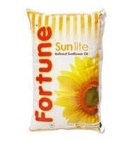 Fortune Sunflower Refined Oil Pouch 1 Ltr - Anytimeneeds