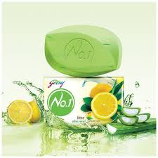 Godrej No-1 Lime & Aloe Vera Pack of 5