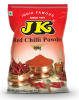 Jk Red Chili Powder 100 Gm