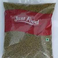 Just Food Green Moong Whole 500 Gm