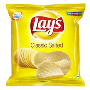 Lays Classic Salted Potato Chips-52Gm
