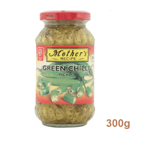 Mother'S Green Chilli Pickle 300 Gm