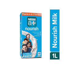 Nestle Nourish Slim Milk A+ 1 Ltr