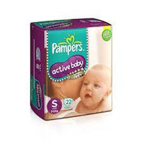 Pampers Active Baby Small 22s