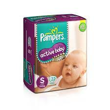 Pampers Active Baby Small 22s - Anytimeneeds