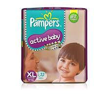 Pampers Active Baby XL 32s - Anytimeneeds
